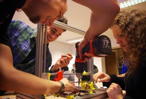 Zbudowaliśmy drukarkę 3D